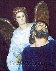 Cadiz:Nuestro Padre Jesús orando en el huerto y el Ángel Confortador
